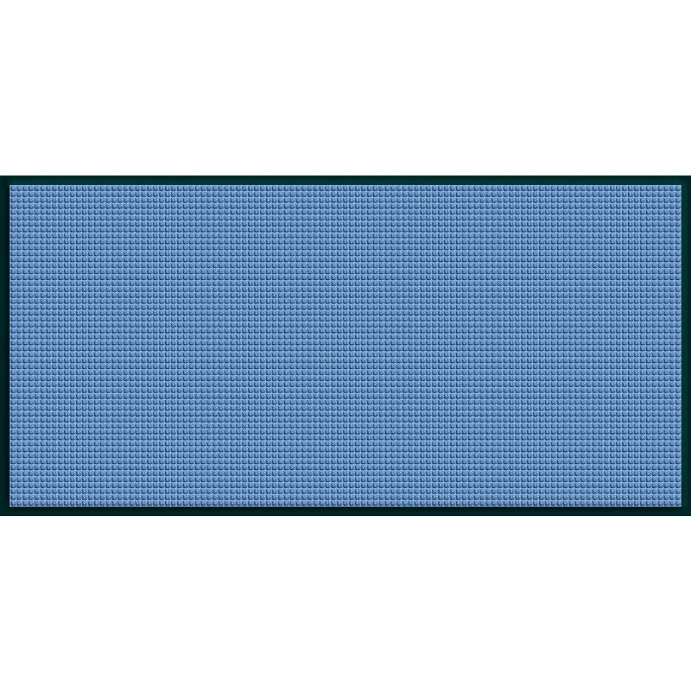 WaterGuard Medium Blue Motorcycle 35.25 in. x 97 in. Landing Pad