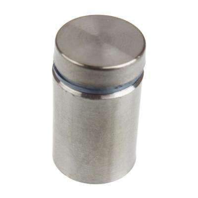 3/4 in. Dia x 1 in. L Stainless Steel Standoffs for Signs (4-Pack)