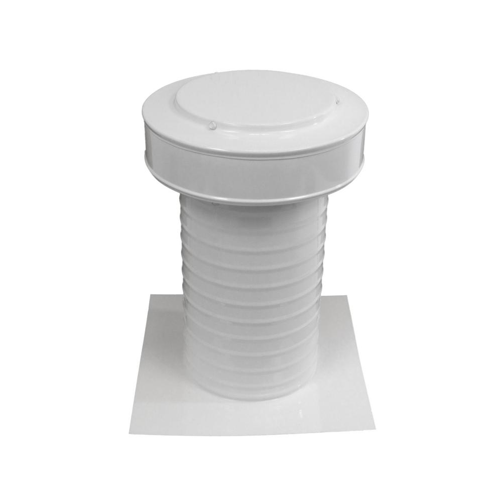 7 in. Dia Aluminum Keepa Static Vent for Flat Roofs in