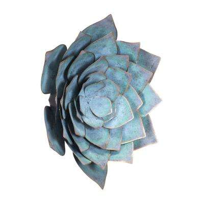 Metal Lotus Large Wall Decor