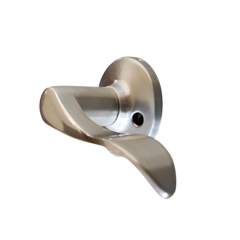 Stratford Satin Nickel Right-Hand Dummy Door Lever
