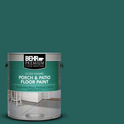 1 gal. #S-H-490 Billiard Table Gloss Porch and Patio Floor Paint