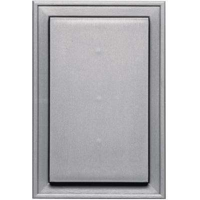 8.125 in. x 12 in. #016 Gray Jumbo Mounting Block