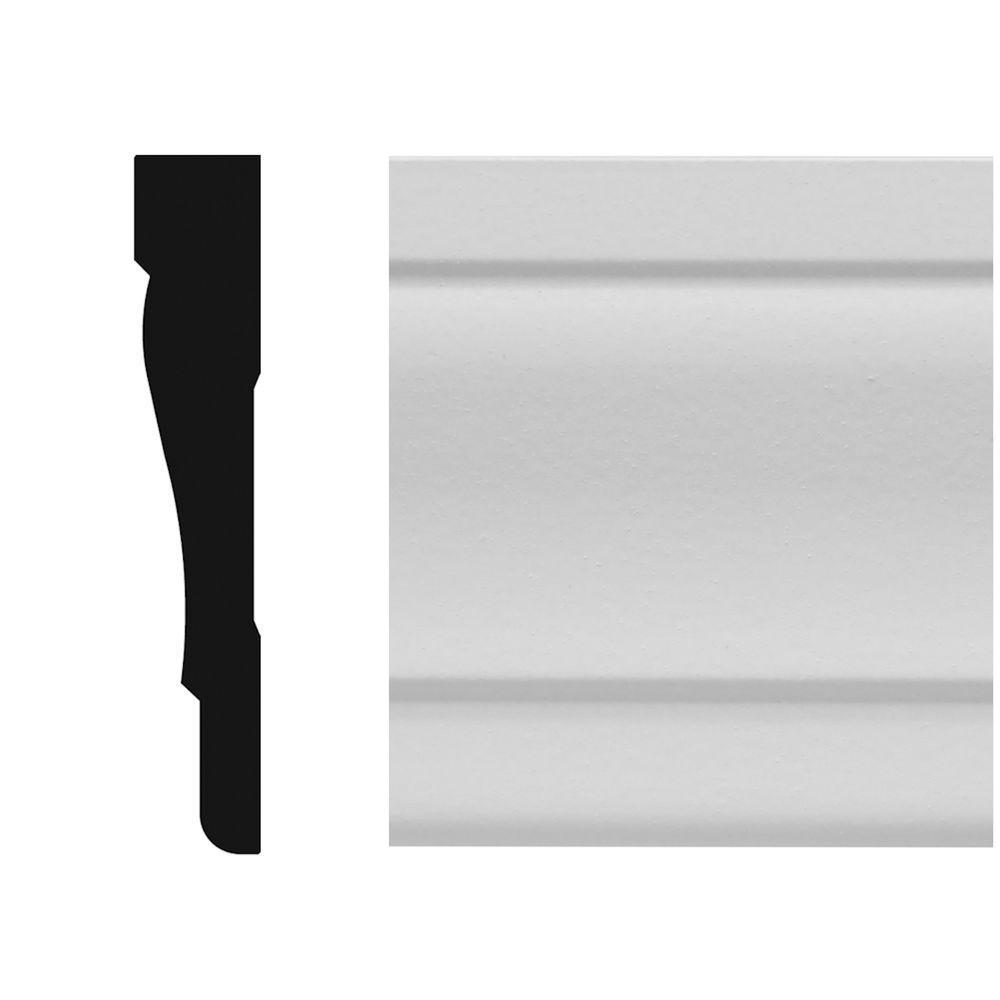 8837 5/8 in. x 3-1/4 in. x 96 in. MDF Colonial Casing Moulding