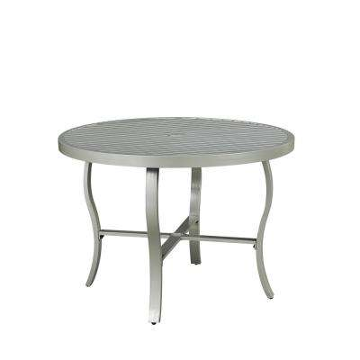 South Beach Extruded Aluminum Outdoor Dining table