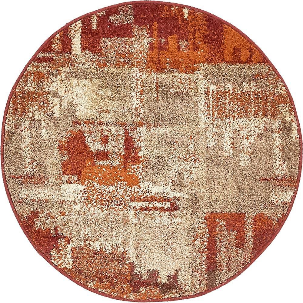 Autumn Cinnamon Multi 3' 3 x 3' 3 Round Rug