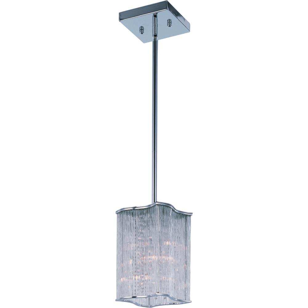 Maxim Lighting Swizzle 3-Light Polished Chrome Mini-Pendant Maxim Lighting's commitment to both the residential lighting and the home building industries will assure you a product line focused on your lighting needs. With Maxim Lighting accessories you will find quality product that is well designed, well priced and readily available. Maxim has fixtures in a variety of styles, and a strong presence in the energy-efficient lighting industry, Maxim Lighting is the clear choice for quality lighting.