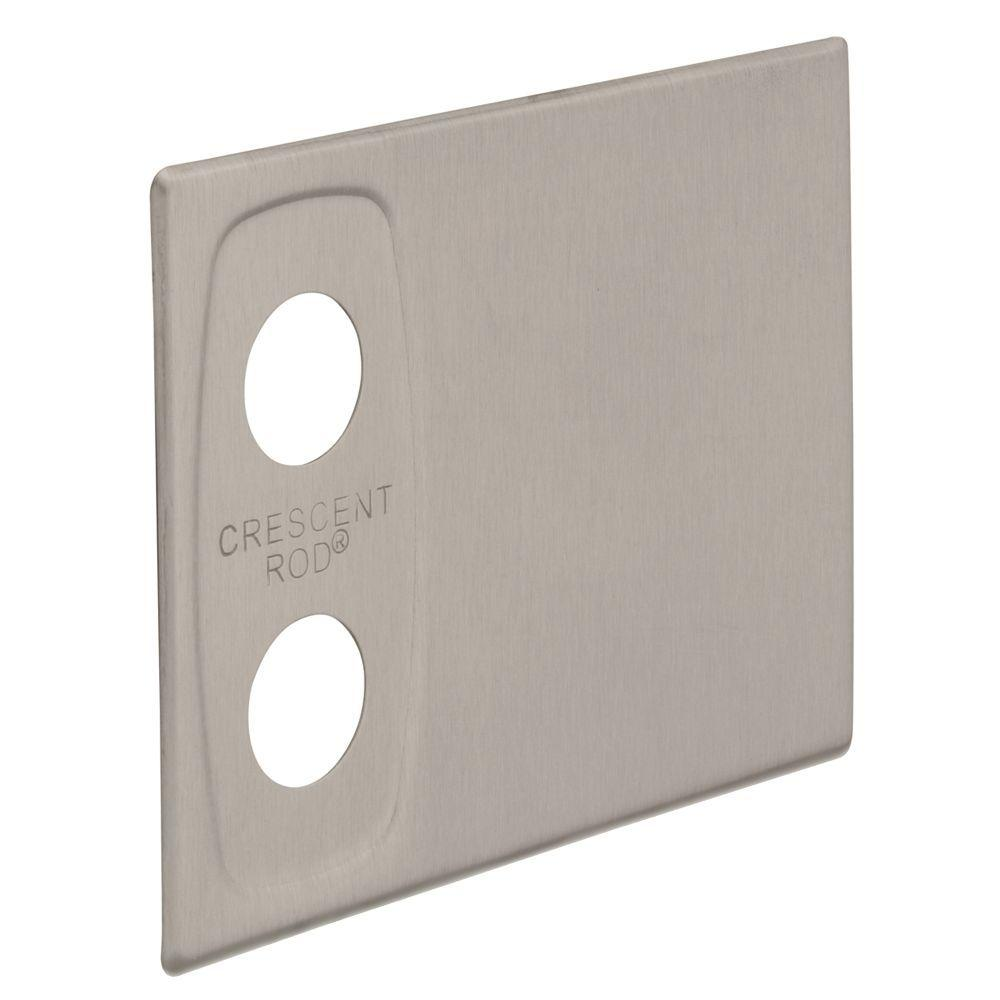 Franklin Brass Screw Hole Cover Plate in Satin Nickel 1-Pair