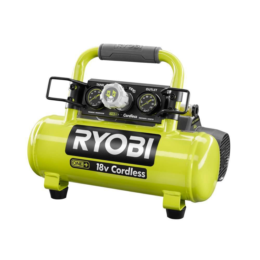 RYOBI 18-Volt ONE+ Cordless 1 Gal. Portable Air Compressor (Tool-Only)