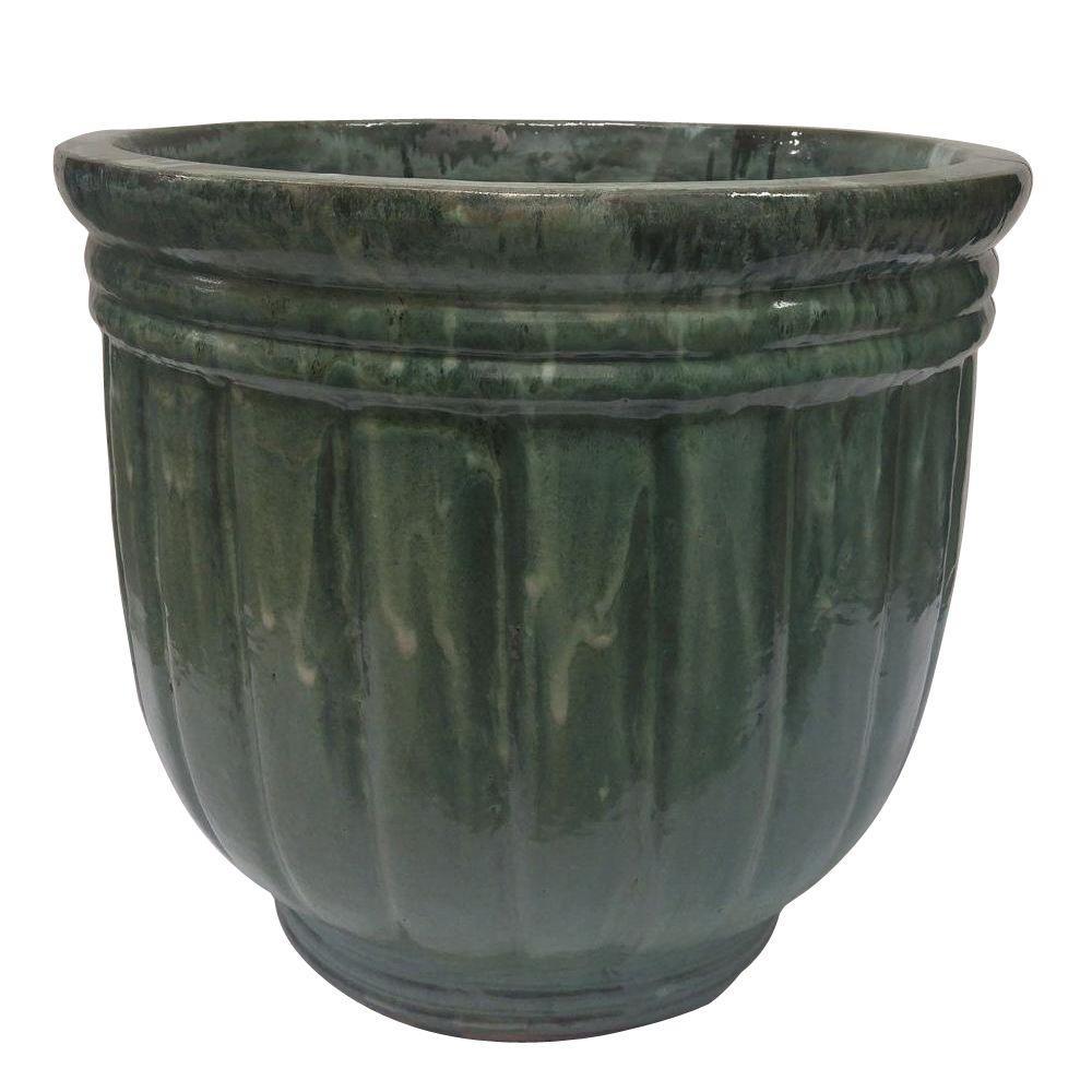 Glazed large premium ceramic planter