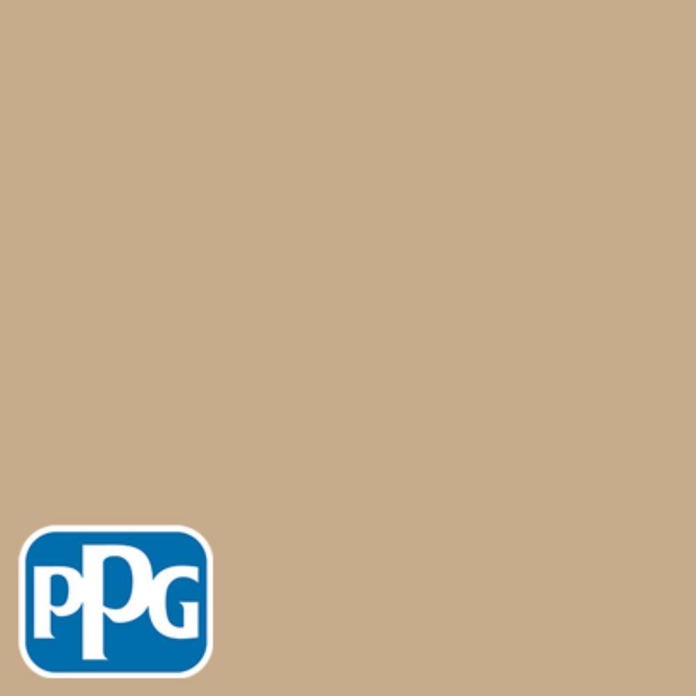 8 oz. #HDPPGO64U Classic Ivory Flat Interior/Exterior Paint Sample