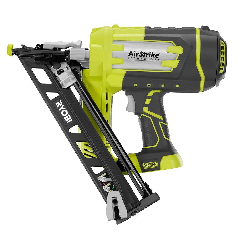 18-Volt ONE+ Cordless 15-Gauge AirStrike Angled Nailer (Tool-Only)