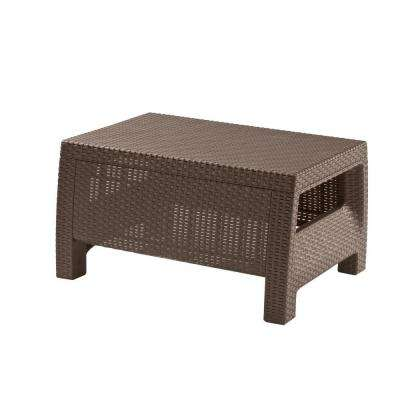 Corfu Brown All Weather Patio Coffee Table