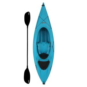 Lifetime Payette 9.6 ft. Kayak in Glacier Blue with Paddle and Seat Back by Lifetime