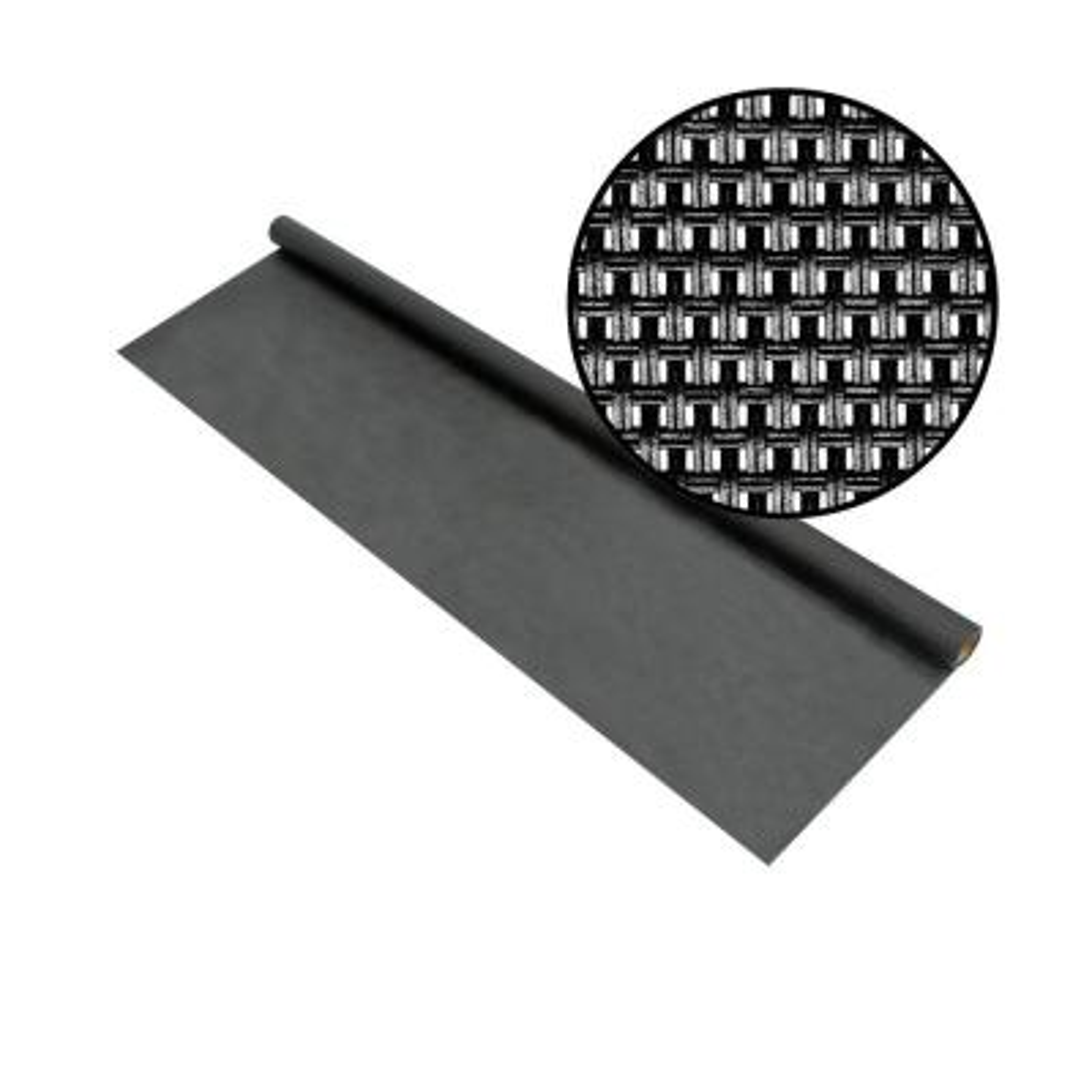 36 in. x 84 in. Charcoal Super Solar Screen