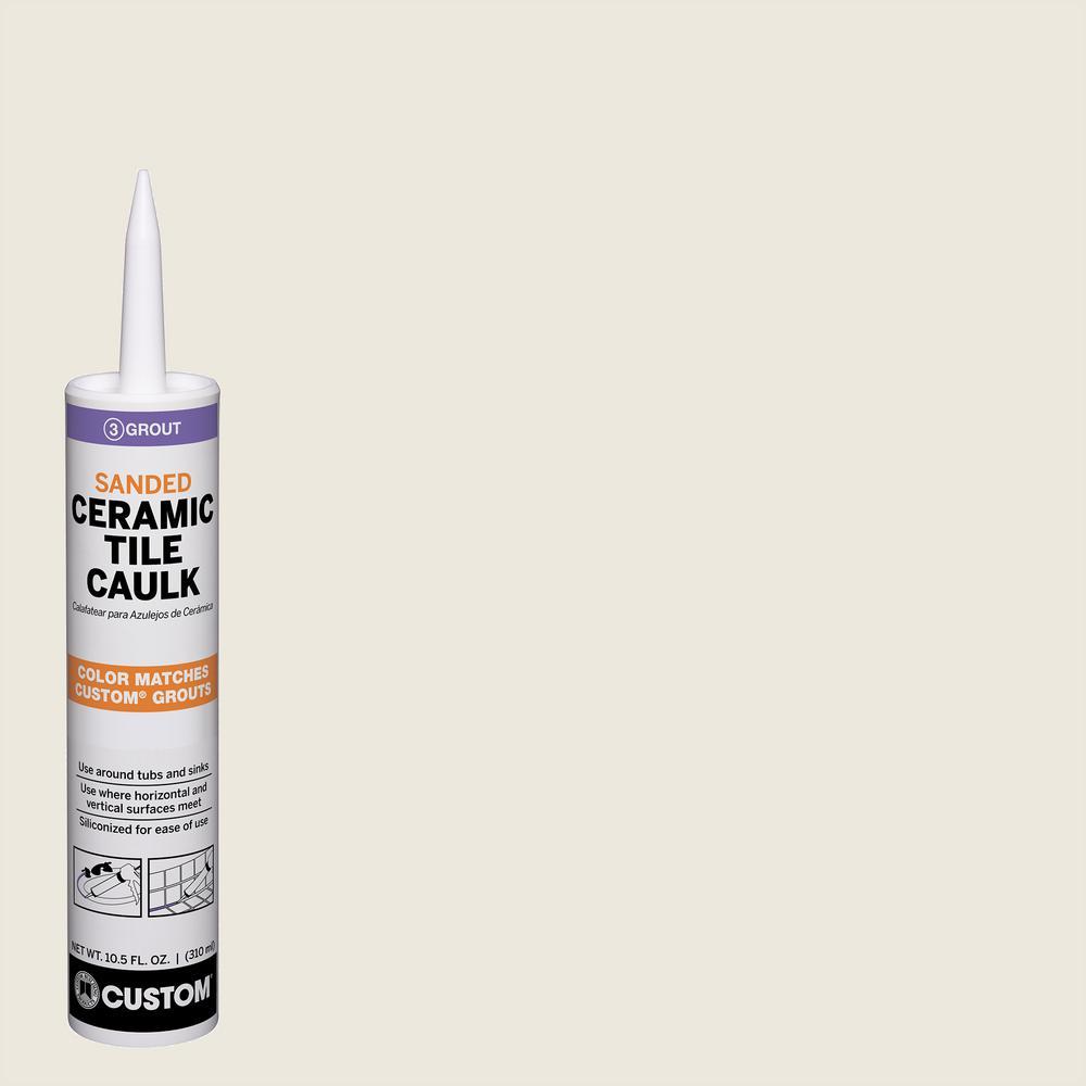 Polyblend #381 Bright White 10.5 oz. Sanded Ceramic Tile Caulk