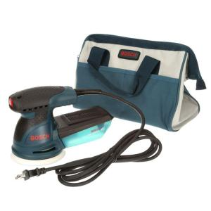Click here to buy Bosch 2.5 Amp Corded 5 inch Variable Speed Random Orbital Sander/Polisher with Carrying Bag Kit by Bosch.