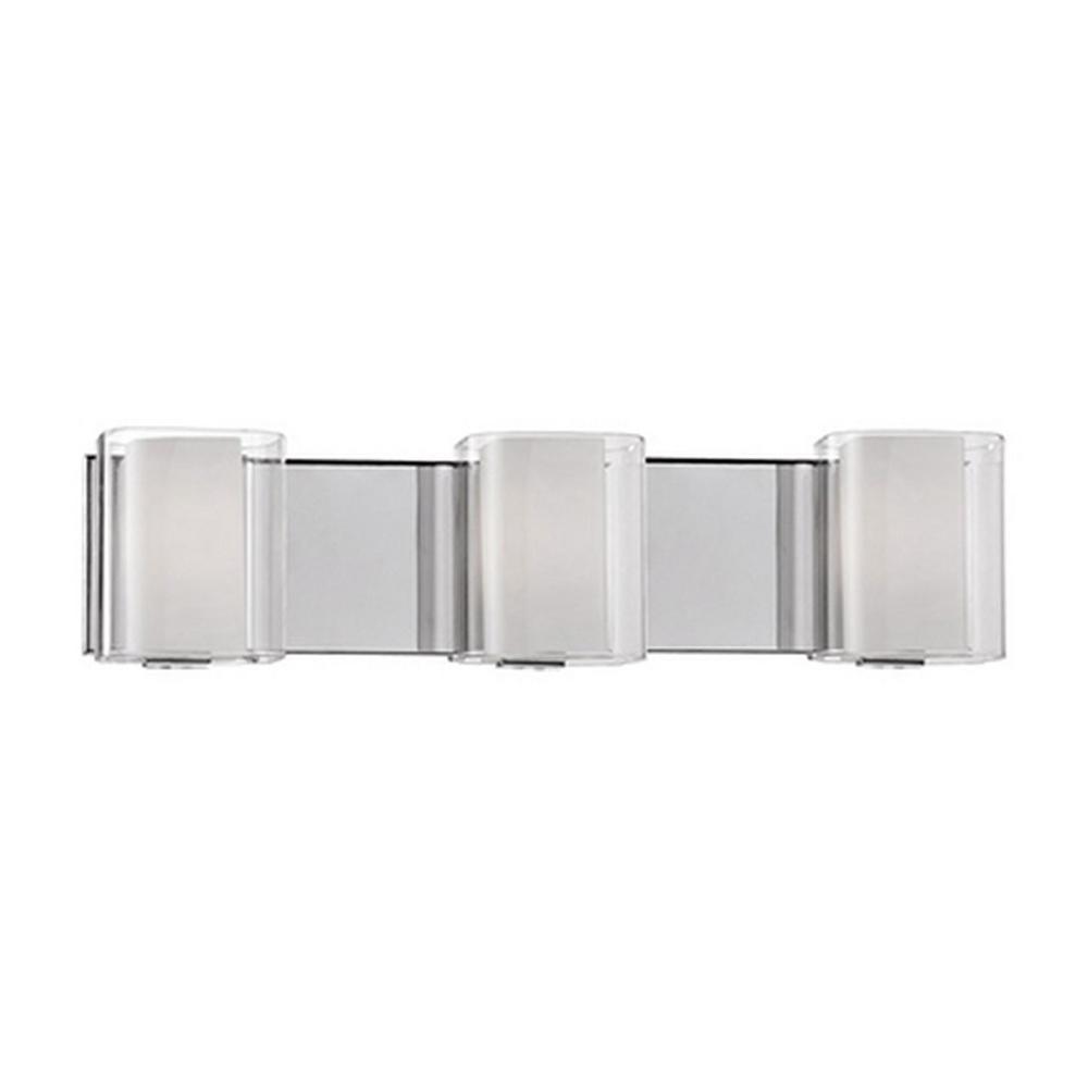 Radionic Hi Tech Effeigy 3-Light Chrome Bath Light