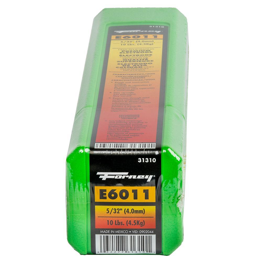5/32 in. E6011 Welding Rod 10 lb.