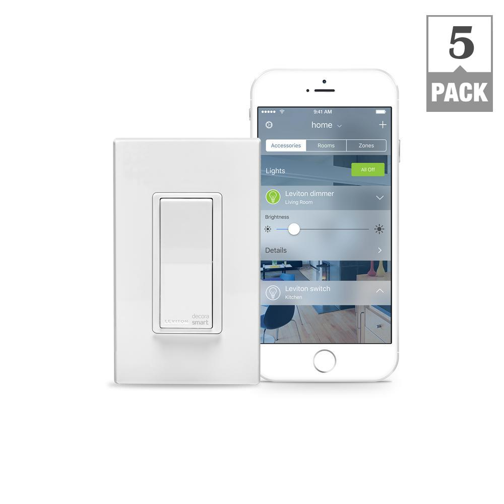 15 Amp Decora Smart with HomeKit Technology Switch, Works with Siri
