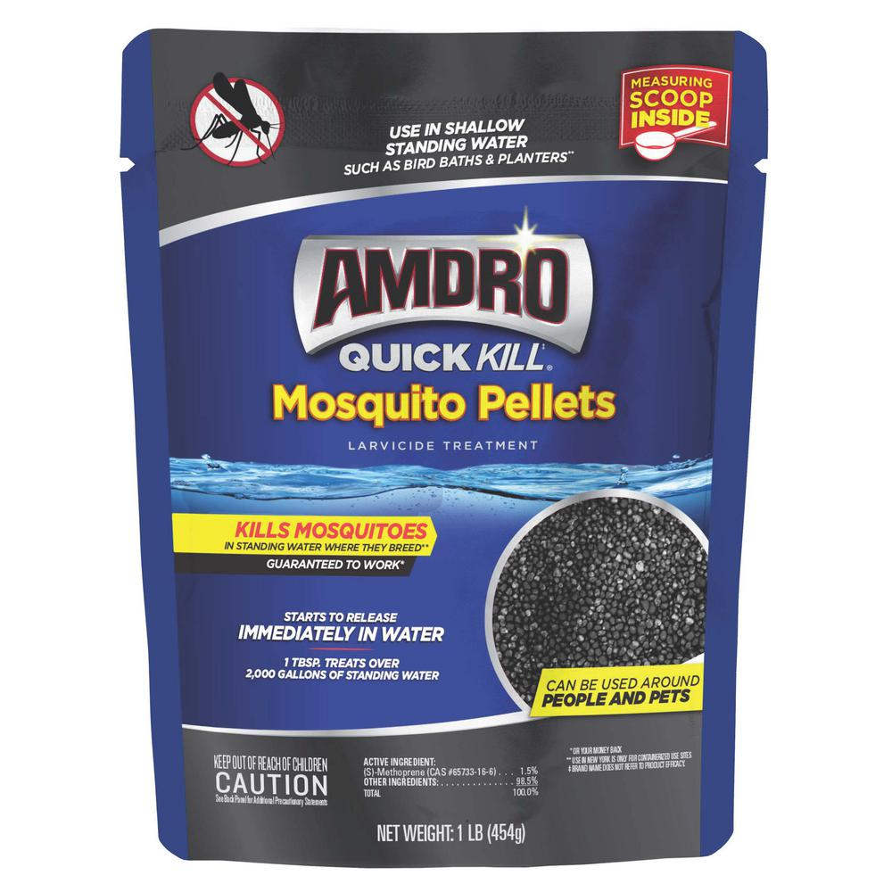 Quick Kill Mosquito Pellets Larvicide Treatment 1 lbs.