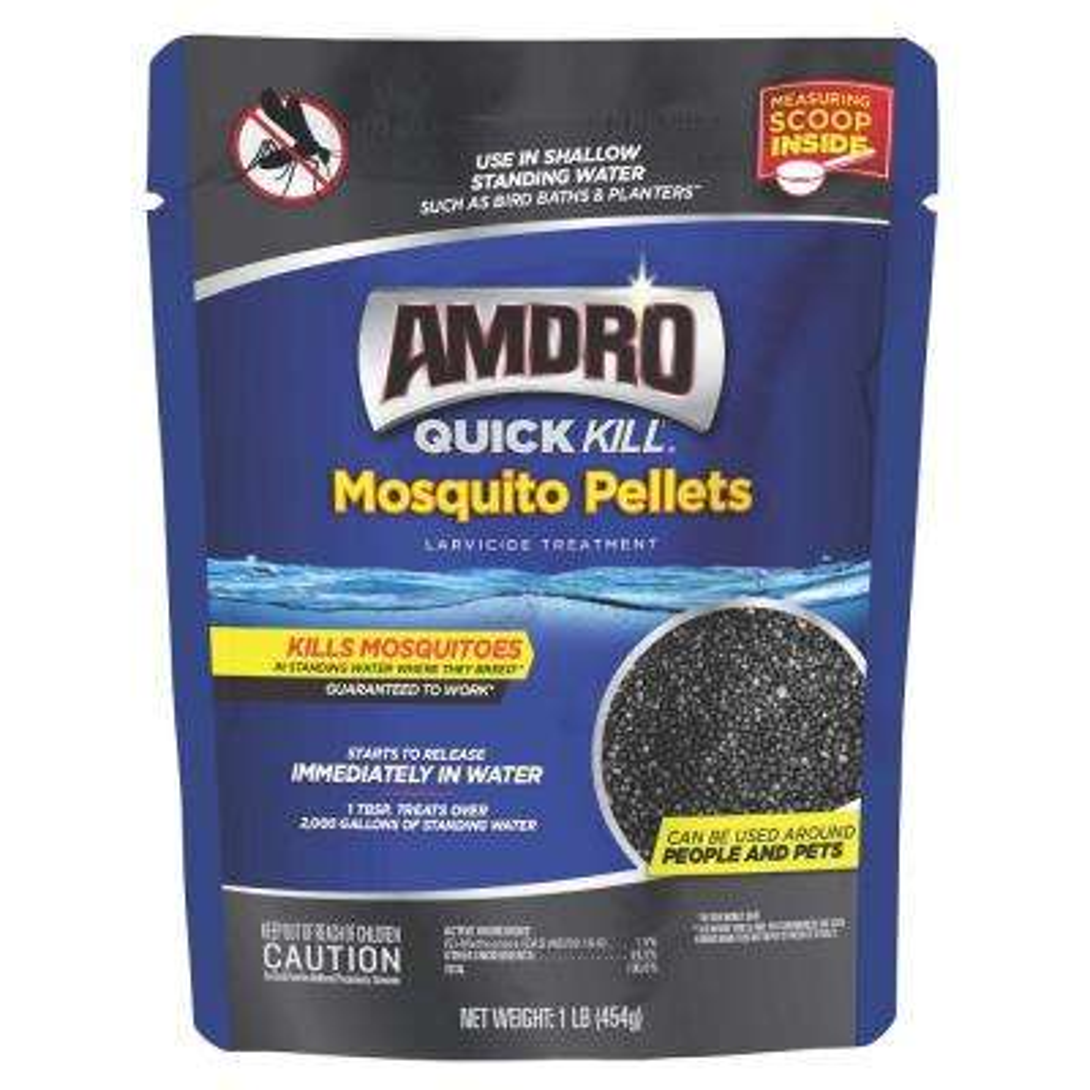 1 lb. Larvicide Treatment Quick Kill Mosquito Pellets