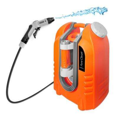 Pure Clean Multi-Function Portable Spray Pressure Washer Cleaning System Power Bank Flashlight and Rechargeable Battery