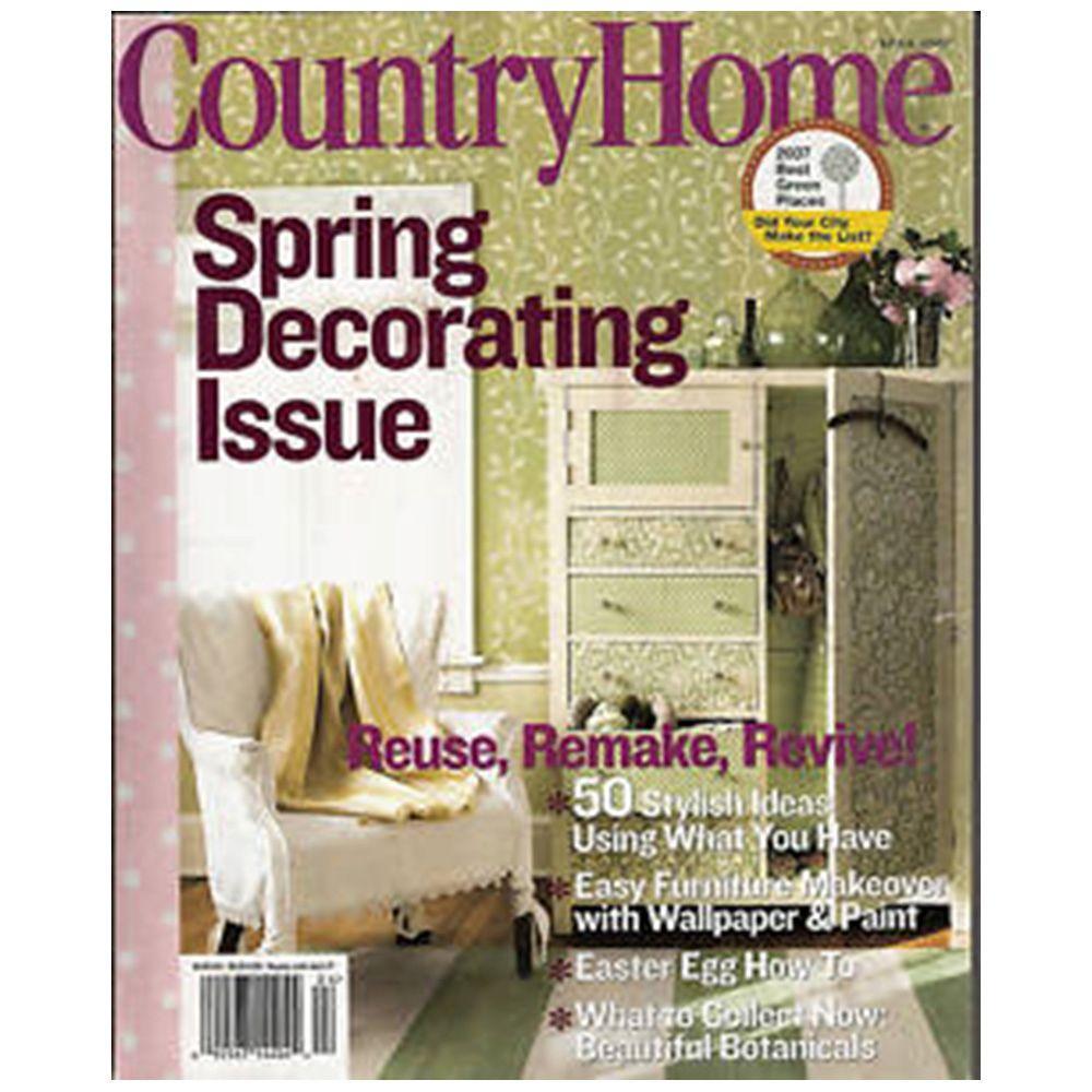 Country Home Decor Magazines
