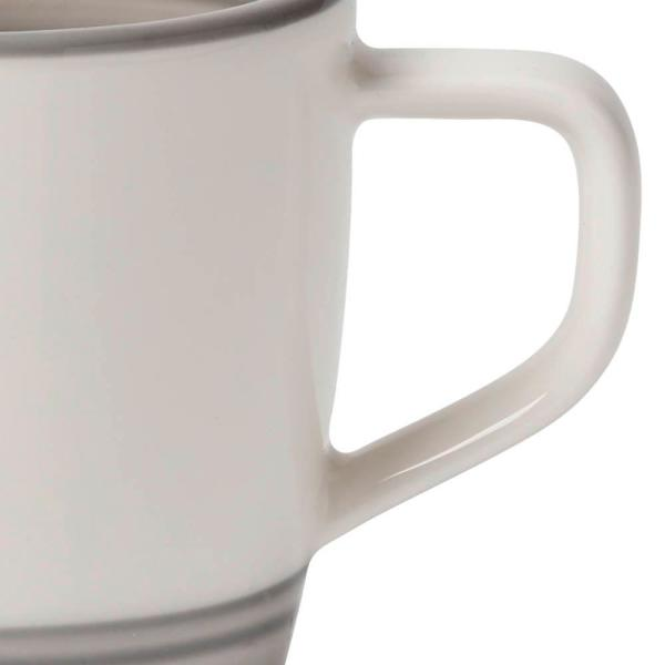 Villeroy Boch Manufacture Gris 3 1 4 Oz Gray Espresso Cup 1042311420 The Home Depot