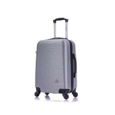 Royal lightweight hardside spinner 20 in. carry-on Silver