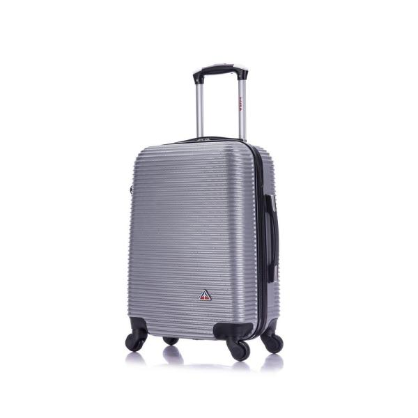 InUSA Royal lightweight hardside spinner 20 in. carry-on Silver IUROY00S-SIL