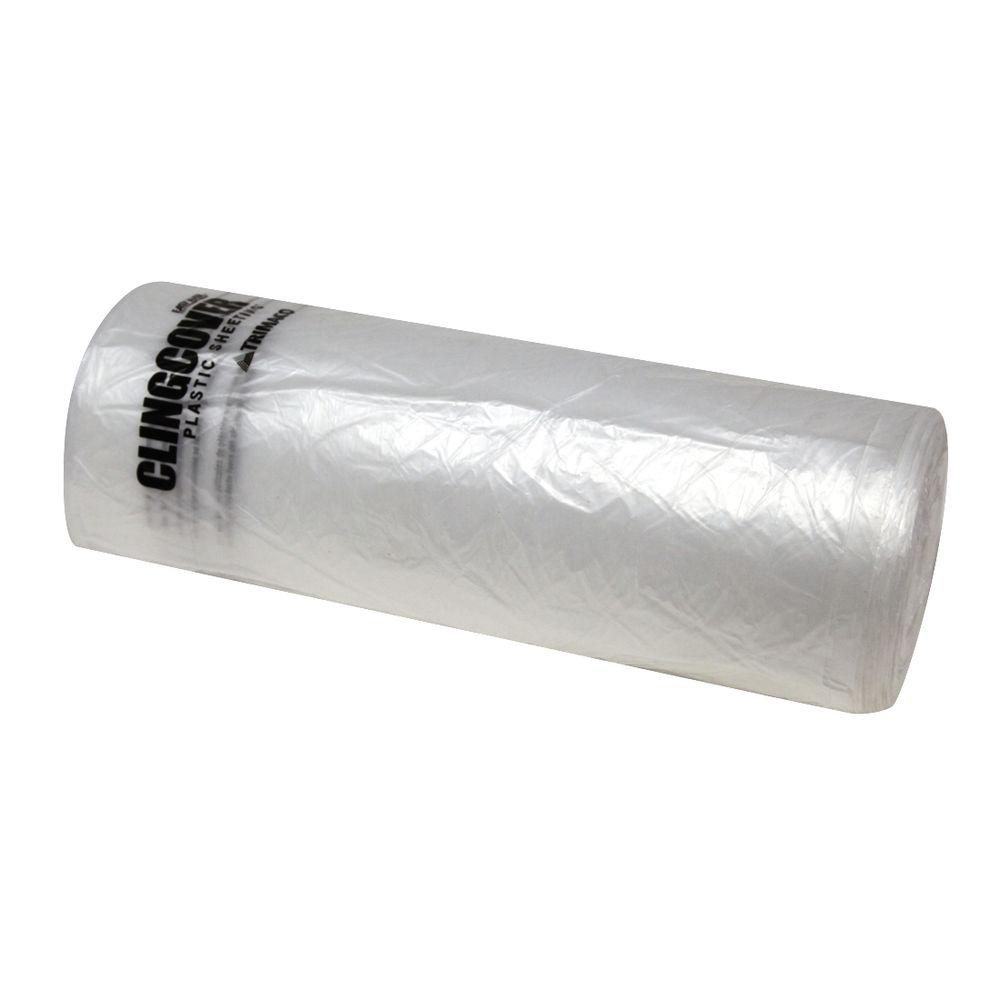 Easy Mask 9 ft  x 400 ft  Cling Cover Plastic Sheeting