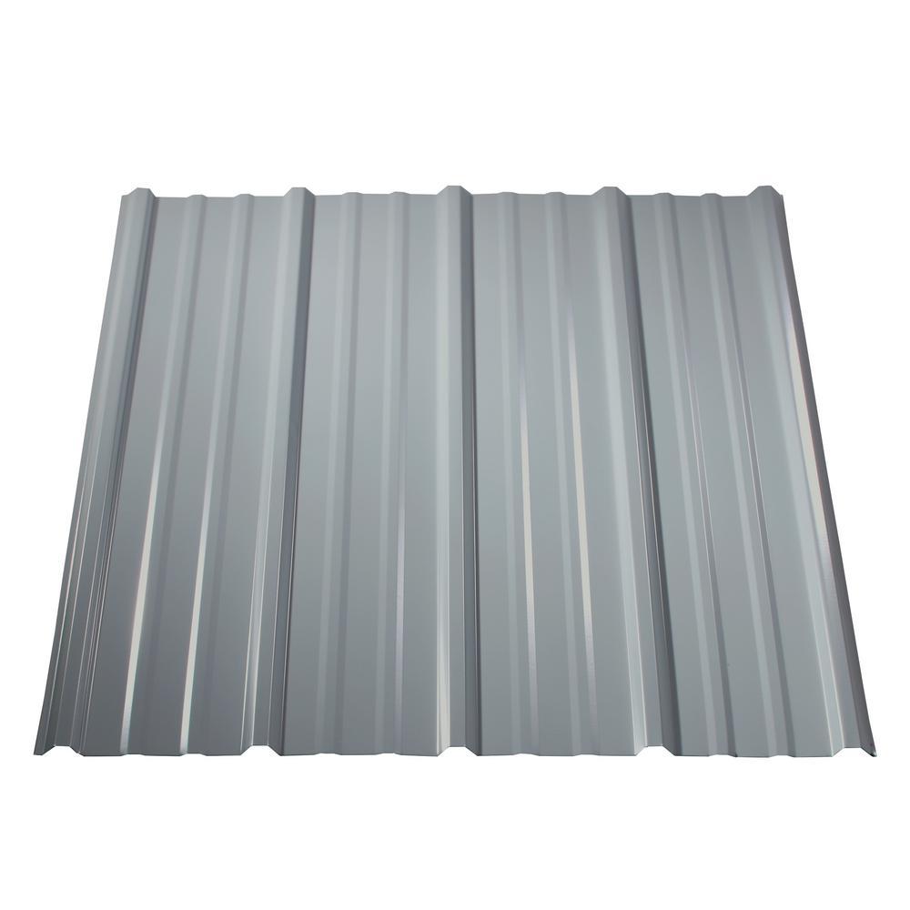 10 ft. Pro Panel II Metal Roof Panel White