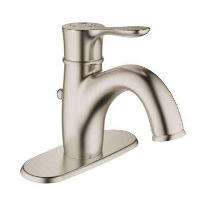Parkfield Single Hole Single Handle 1.2 GPM Bathroom Faucet With Escutcheon  In Brushed Nickel InfinityFinish