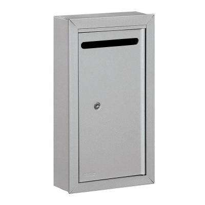 2260 Series Aluminum Slim Surface-Mounted Private Letter Box with Commercial Lock