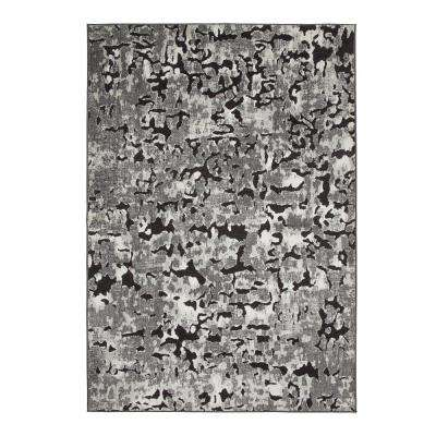 Napa Axel Black/Grey/Ivory 8 ft. x 11 ft. Area Rug