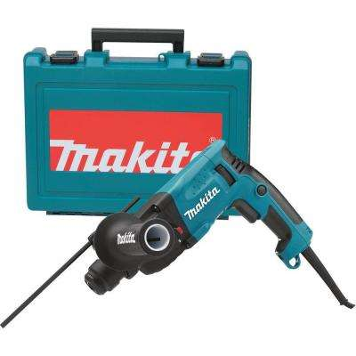 4.2 Amp 11/16 in. Corded SDS-Plus Concrete/Masonry Rotary Hammer Drill with Side Handle and Hard Case