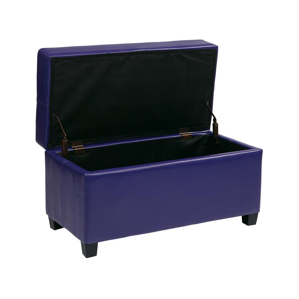 Prime Purple Storage Ottoman Creativecarmelina Interior Chair Design Creativecarmelinacom