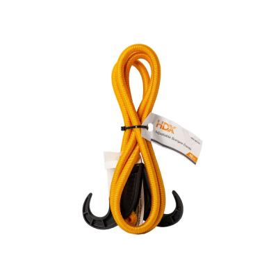 6 in - 48 in x 9mm Bungee Cord with Adjustable Hook, 1 pk