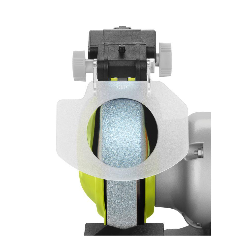 Cool Ryobi 8 In Bench Grinder Green Alphanode Cool Chair Designs And Ideas Alphanodeonline