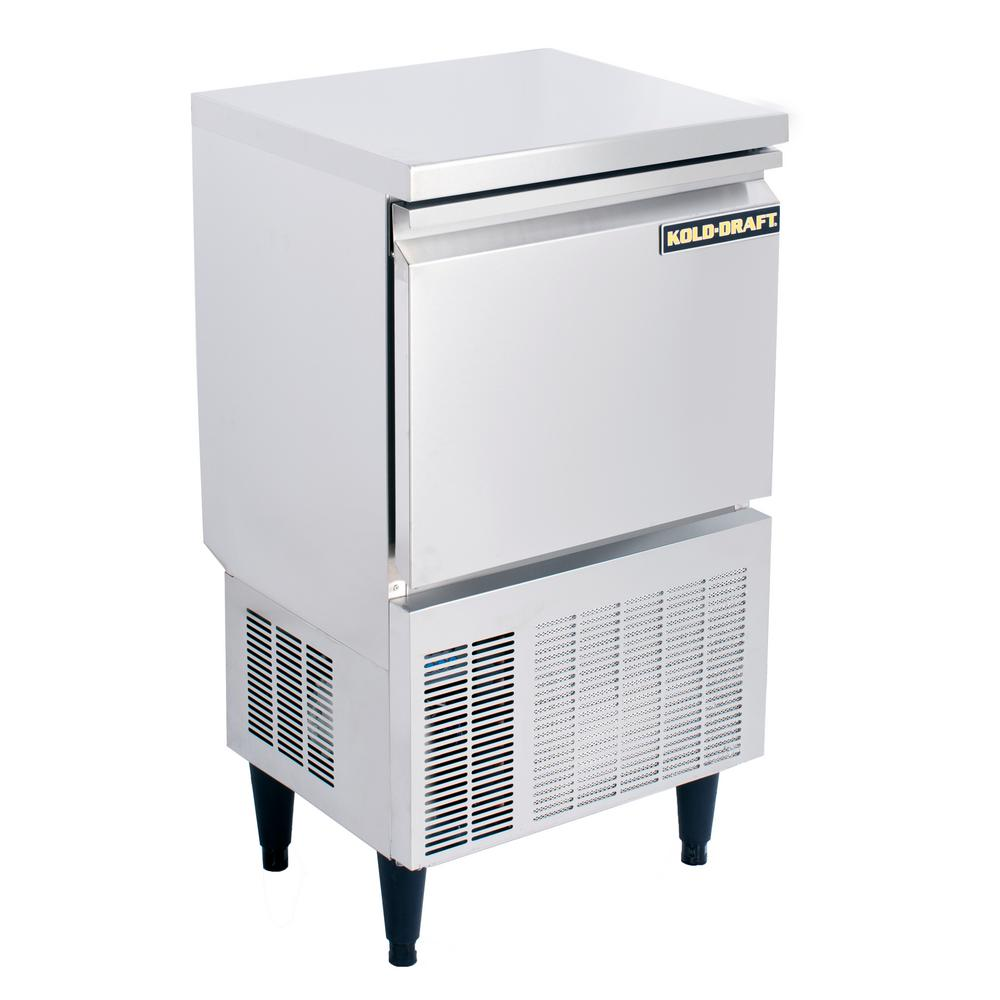 Kold draft cocktail series 70 lb freestanding ice maker for Apartment size ice maker