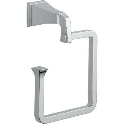 Dryden Towel Ring in Polished Chrome