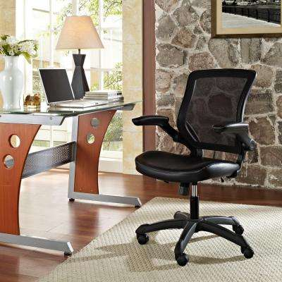 Veer Vinyl Office Chair in Black