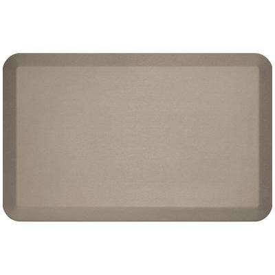 Pro Grade Brushed Stone 20 in. x 32 in. Comfort Anti-Fatigue Mat