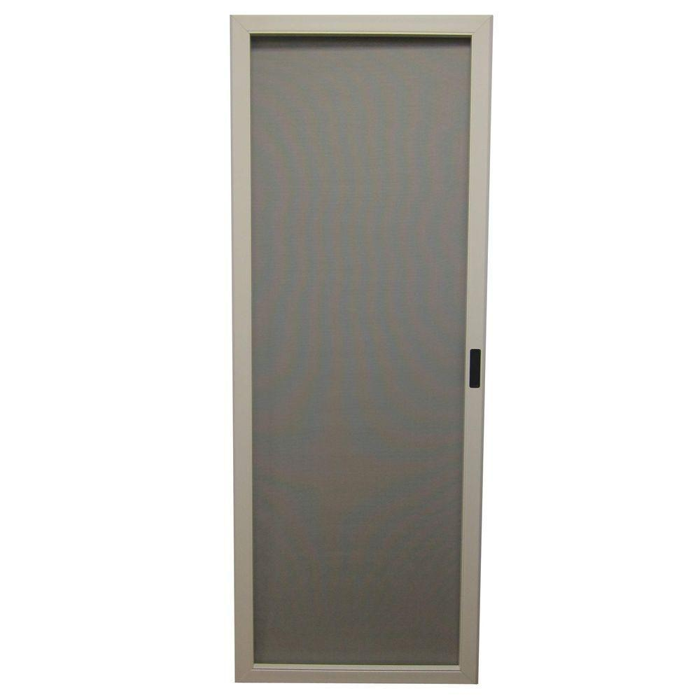 36 in x 80 in chesapeake series reversible solid vinyl - 30 x 80 exterior door with pet door ...