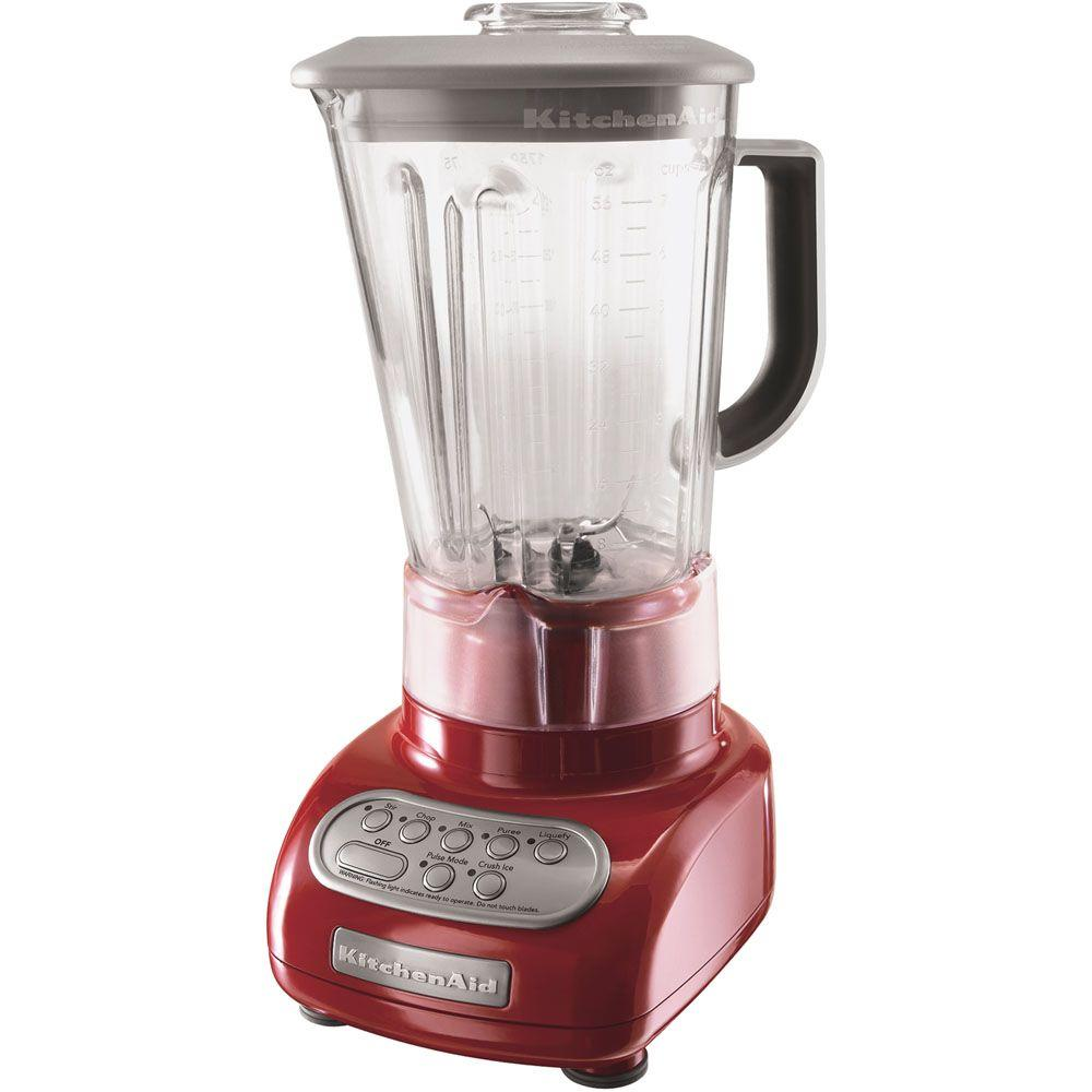 KitchenAid 5-Speed Polycarbonate Jar Blender in Empire Red-DISCONTINUED