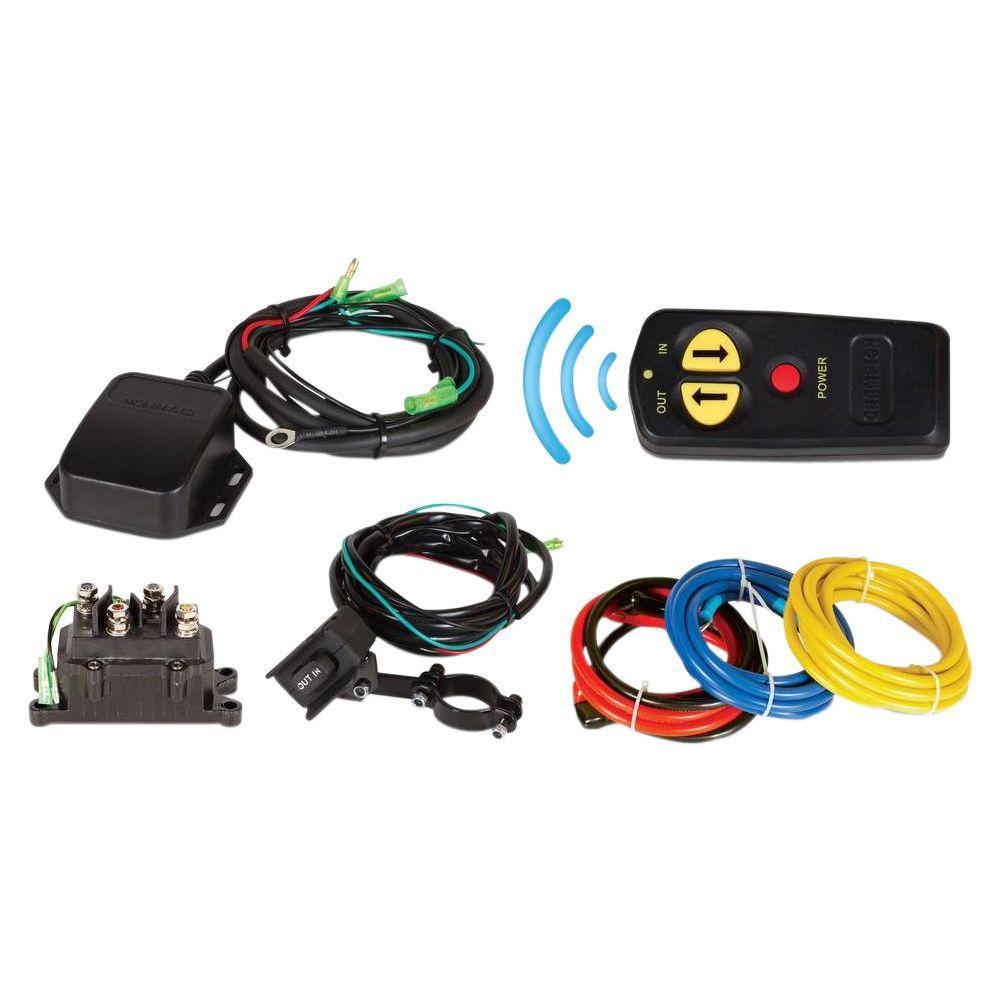 Wireless Remote Winch Kit for 2,000 lb. - 4,700 lb. Champion Winches