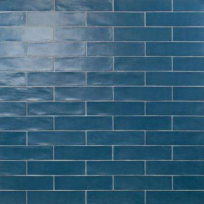 Strait Marina 3 in. x 12 in. 8 mm Polished Ceramic Subway Wall Tile (22 piece 5.38 sq. ft. / Box)