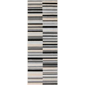 Artistic Weavers Meredith Taupe 2 Ft 6 In X 8 Ft Rug Runner Mere 8924 The Home Depot