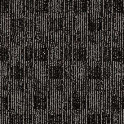 8 in. x 8 in. Textured Carpet Sample - Claymont - Color Black Coral